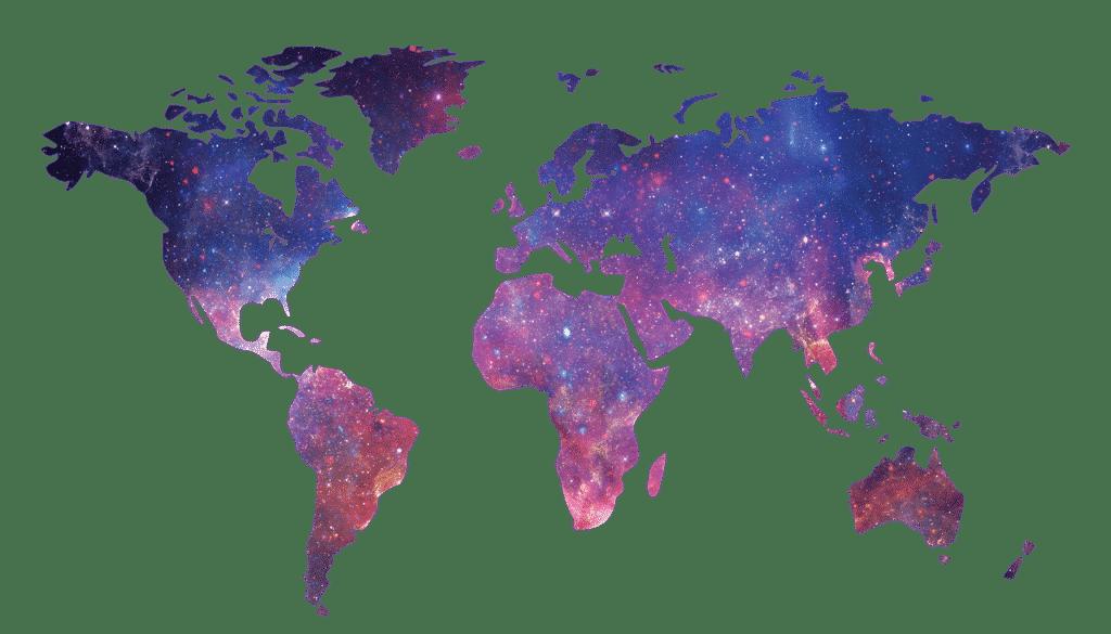giełdy kryptowalut - mapa